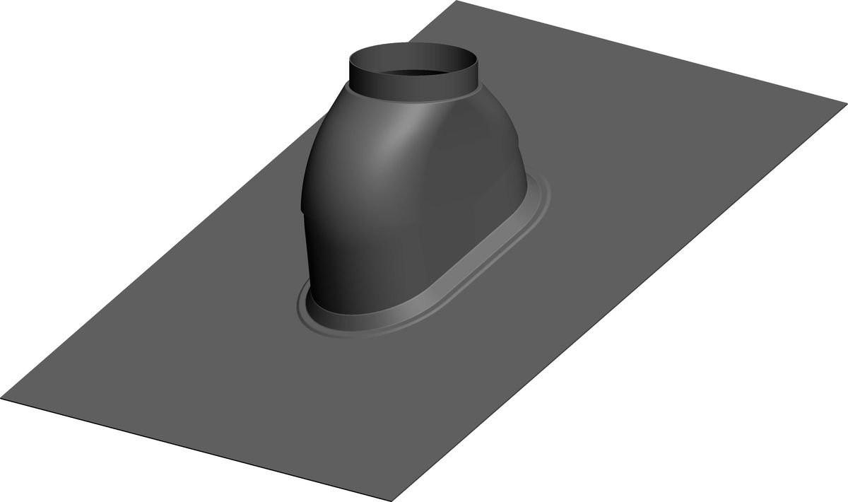 Dachdurchführung 0-48º Schwarz