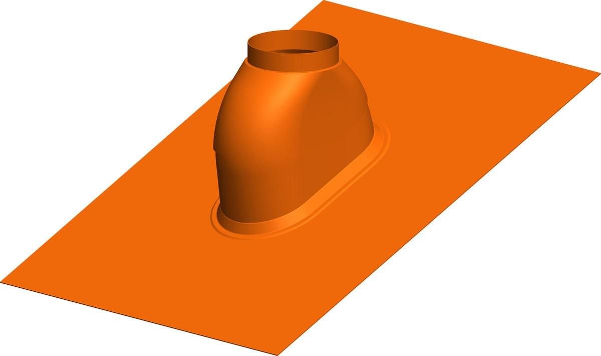 Dachdurchfürung 0-48º ziegelrot