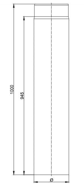 Längenelement 1 Mtr