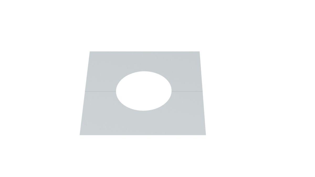 Deckenblende 0º zweiteilig VA