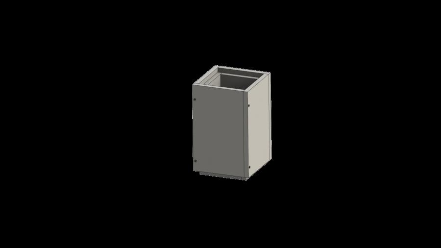 Schachtelement 500 mm - Leichtbauschornstein