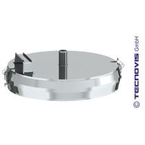 Russtopf/Verschlussdeckel mit Kondensatablauf 160 mm