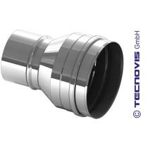Erweiterung Pelletrohr 80 auf 100 mm