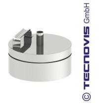 Russtopf/Verschlussdeckel + Kondensatablauf 150 mm
