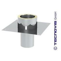Grundplatte/Einschub für Schornsteinerhöhung