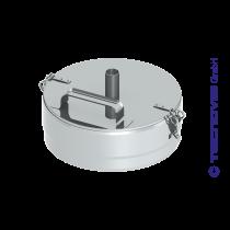 Verschlussdeckel+ Kondensatablauf 130 mm