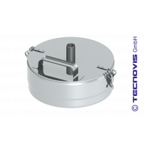 Verschlussdeckel + Kondensatablauf 180 mm
