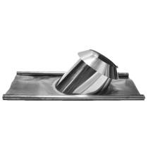 Dachdurchführung 26 - 35º Bleirand mit Wetterkragen