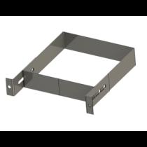 Wandhalter 0 - 100 mm für Schacht - Leichtbauschornstein