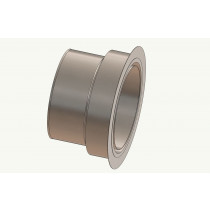 Wandfutter - Adapter 150 auf Ofenrohr 130 mm