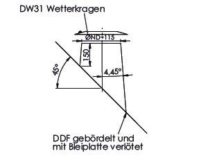 Dachdurchführung