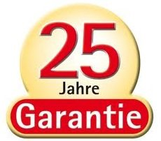 Edelstahlschornstein Garantie